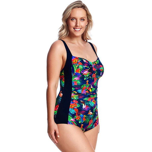 Funkita - Tropic Team - Ladies Ruched One Piece