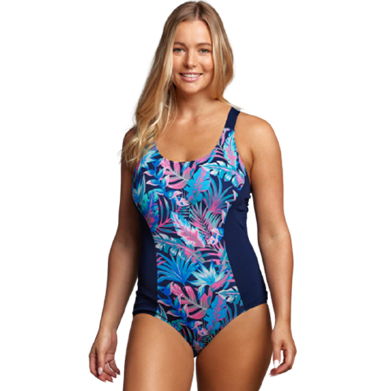 Funkita - Tropical Bliss - Ladies Brace Me Back One Piece