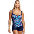 Funkita - Tropical Bliss - Ladies Ruched Panelled Tankini