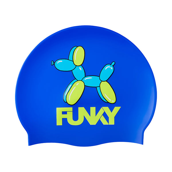 Funky - Balloon Dog Silicone Swimming Cap