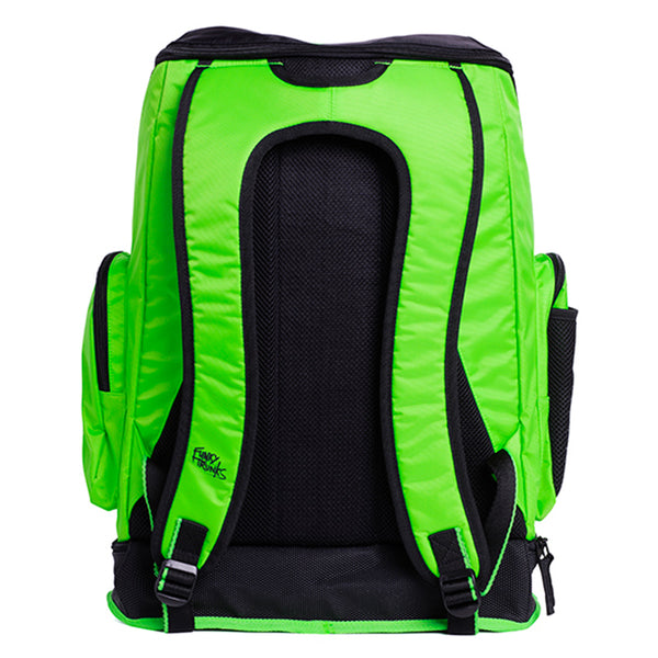 Funky Trunks - Electric Lime Rebranded Backpack