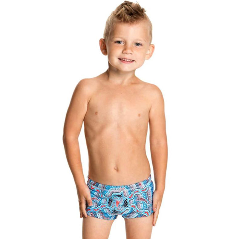 Funky Trunks - Barnamboo Toddlers Printed Trunks
