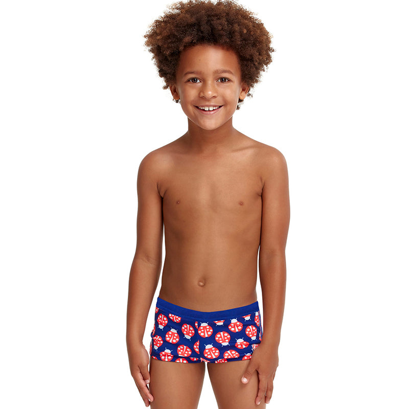 Funky Trunks - Been Bugged - Toddler Boys Square Trunk