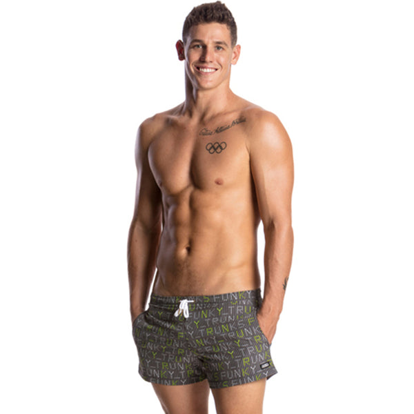 Funky Trunks - Binary Bro Mens Shorty Shorts