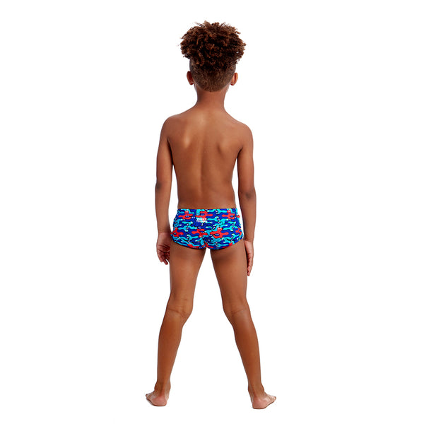 Funky Trunks - Blob Mob - Toddler Boys Printed Trunks