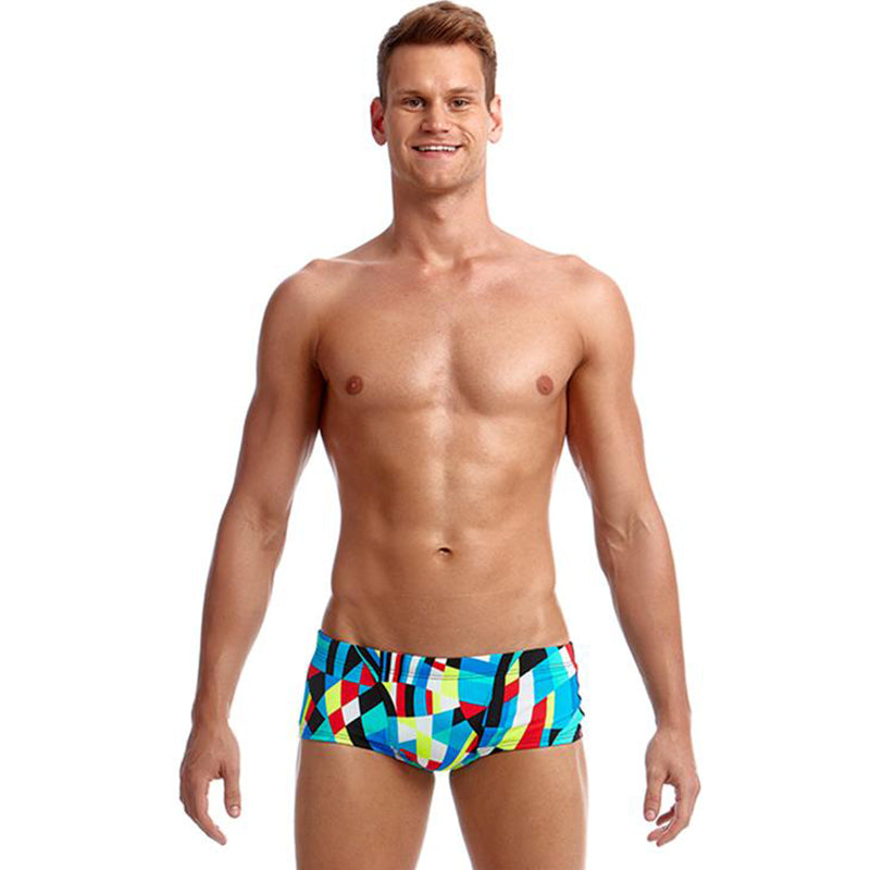 Funky Trunks - Block Chain - Mens Classic Trunks
