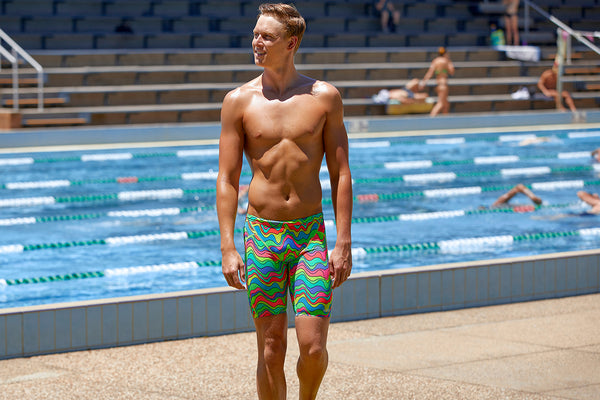 Funky Trunks - Body Contour - Mens Eco Training Jammers