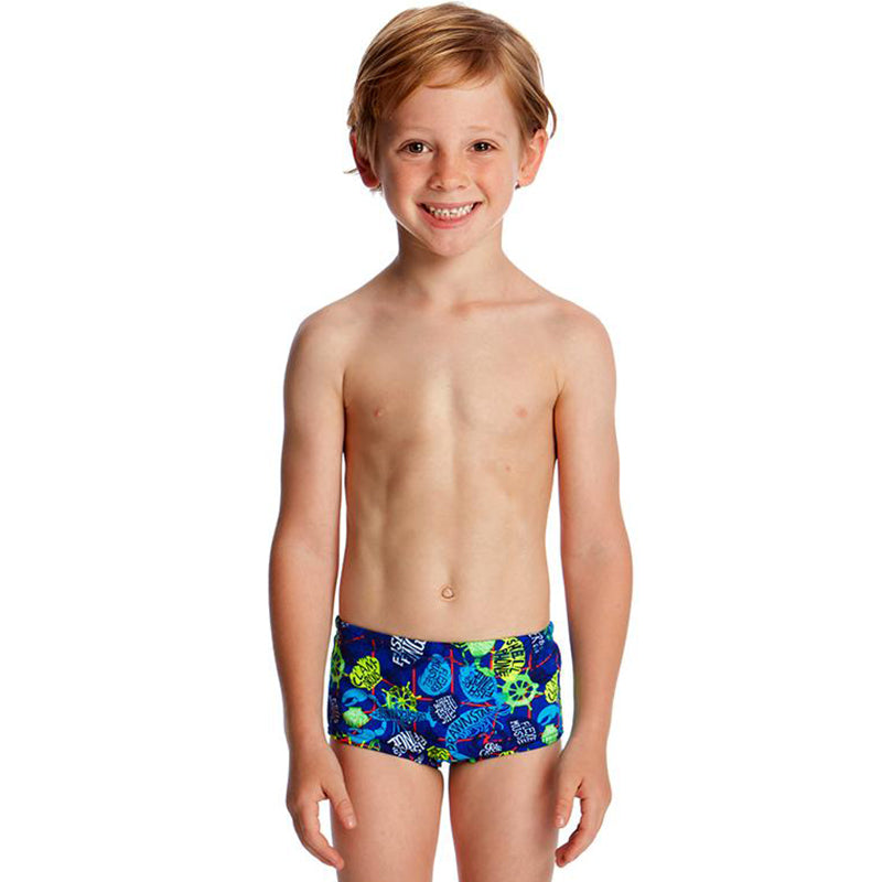 Funky Trunks - Catch Of The Day Toddler Boys Printed Trunks
