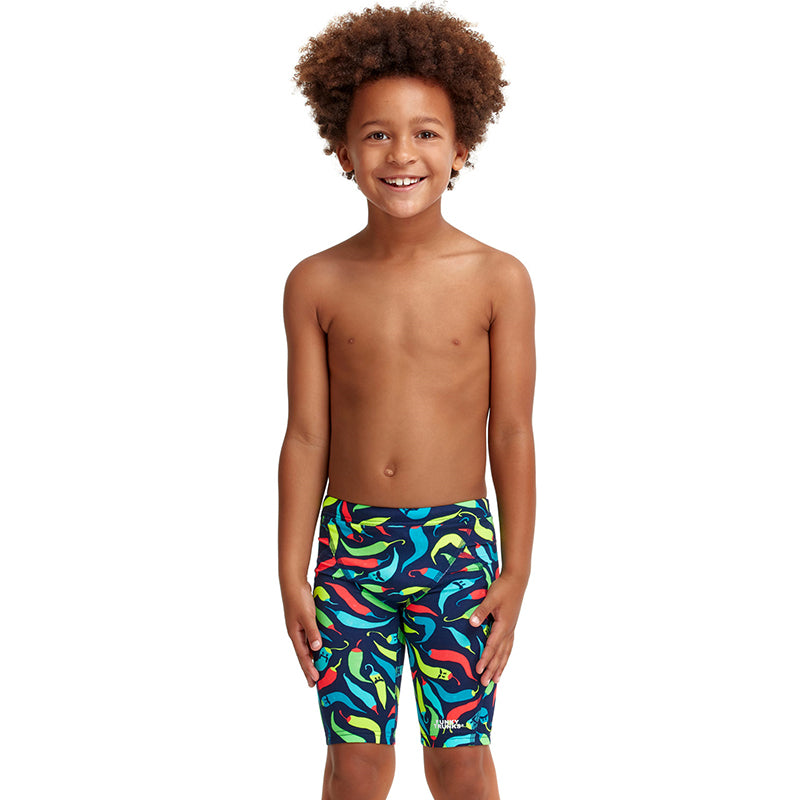 Funky Trunks - Chilli Boss - Toddler Boys Eco Miniman Jammers