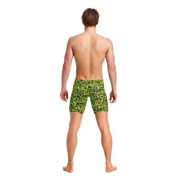Funky Trunks - Coral Gold Mens Training Jammers