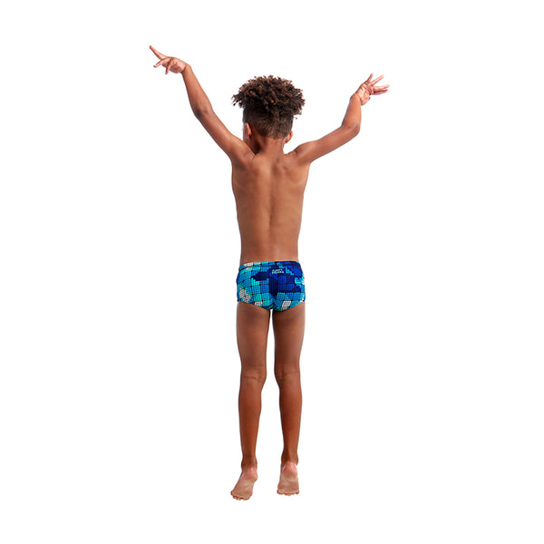 Funky Trunks - Deep Impact - Toddler Boys Printed Trunks