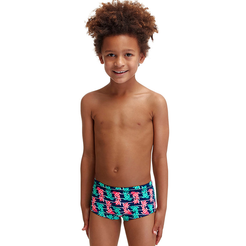 Funky Trunks - Fish Taco - Toddler Boys Printed Trunks