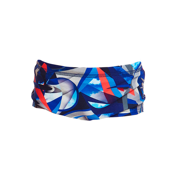 Funky Trunks - Futurismo - Toddler Boys Printed Trunks
