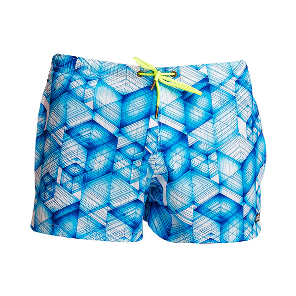 Funky Trunks - Galactica - Mens Shorty Shorts Short