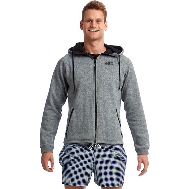 Funky Trunks - Grey Man Mens Hoodie