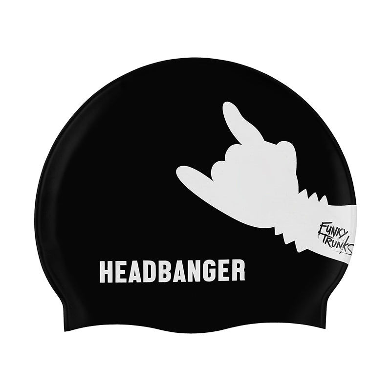 Funky Trunks - Headbanger - Silicone Swimming Cap