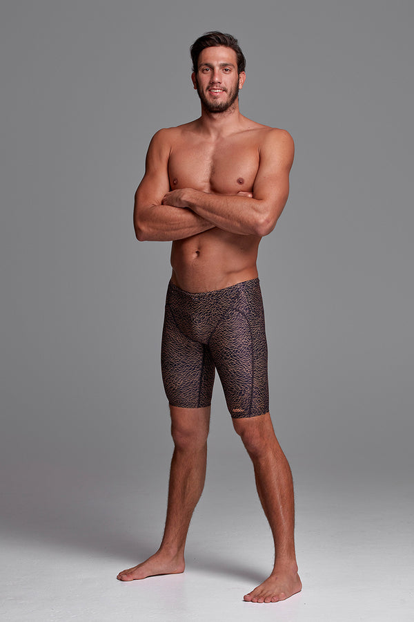Funky Trunks - Leather Skin - Mens Training Jammers