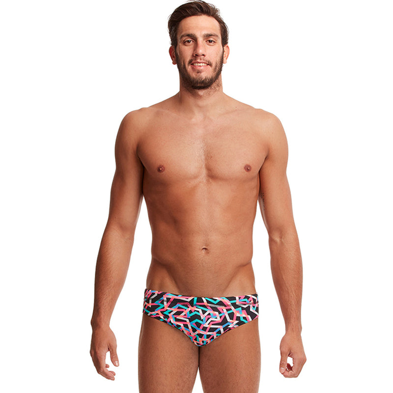 Funky Trunks - Live Streamer - Mens Classic Briefs