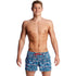 Funky Trunks - Lotsa Dots - Mens Shorty Shorts Short