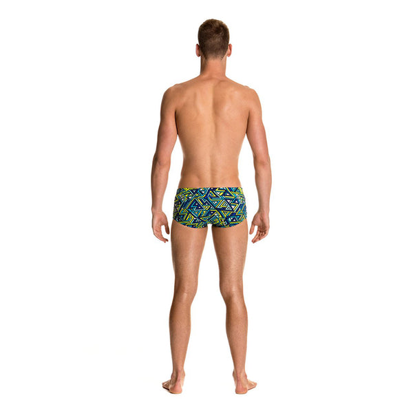 Funky Trunks - Maze Balls Mens Classic Trunks