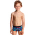 Funky Trunks - Meshed Up Toddler Boys Square Trunks