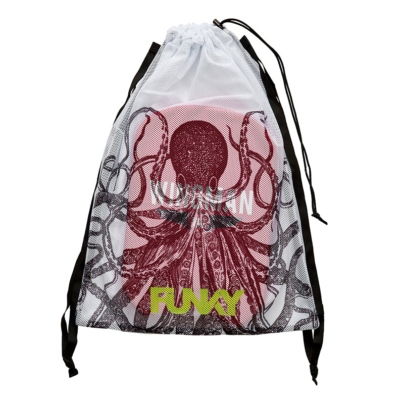 Funky Trunks - Octopussy - Mesh Gear Bag