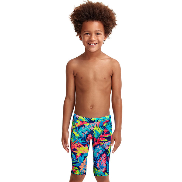Funky Trunks - Palm Off - Toddler Boys Eco Miniman Jammers