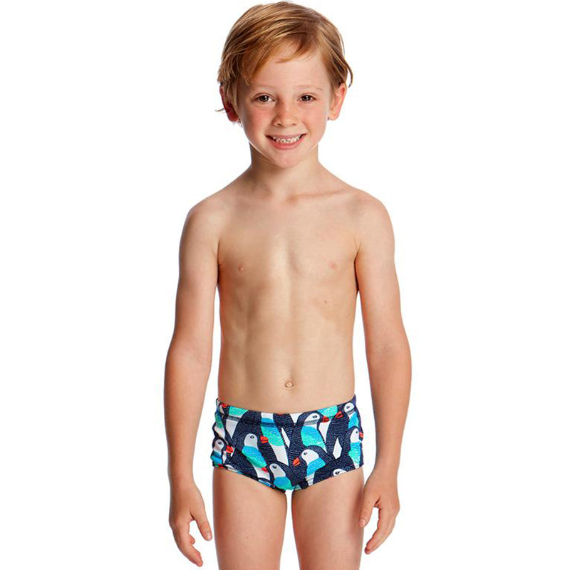 Funky Trunks - Pengoo Parade Toddler Boys Printed Trunks