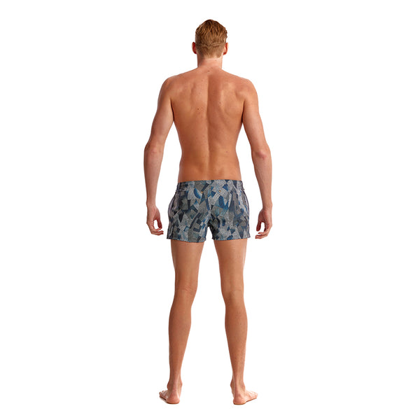 Funky Trunks - Pointillism - Mens Shorty Shorts