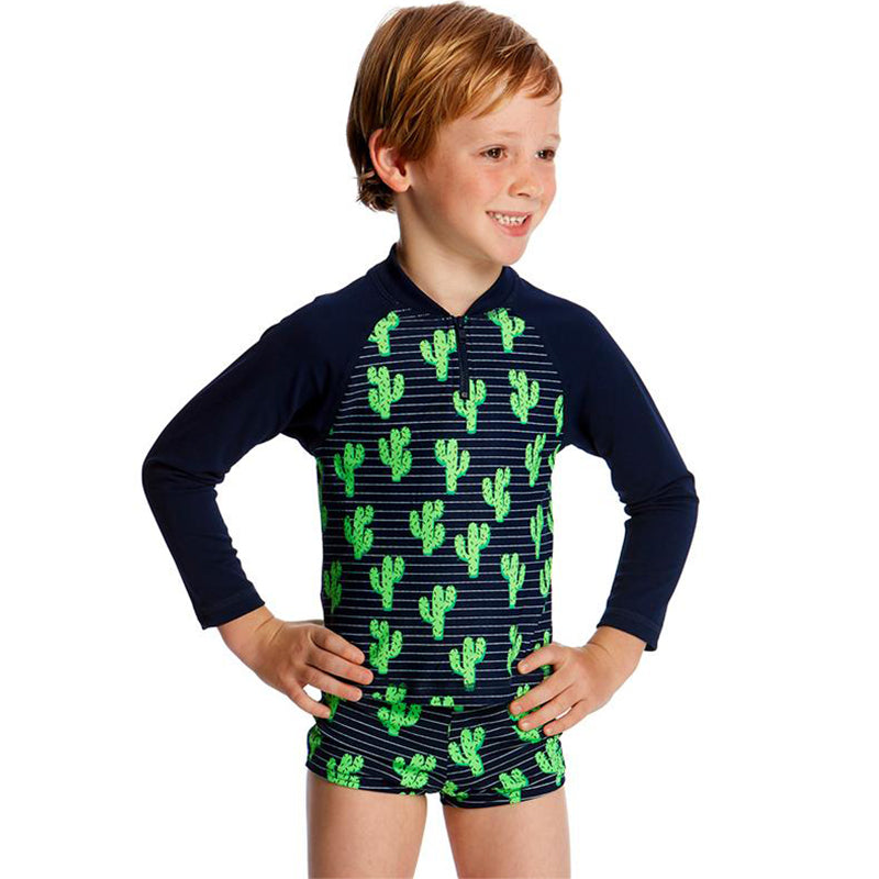 Funky Trunks - Prickly Pete Toddler Boys Rash Vest