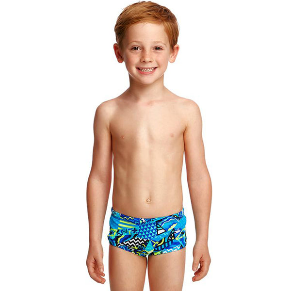 Funky Trunks - Rock Steady Toddler Boys Printed Trunk