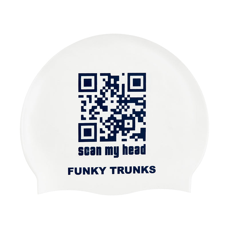 Funky Trunks - Scan My Head - Silicone Swimming Cap