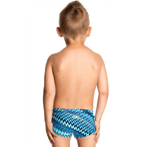 Funky Trunks - Static Blur Toddlers Boys Trunks