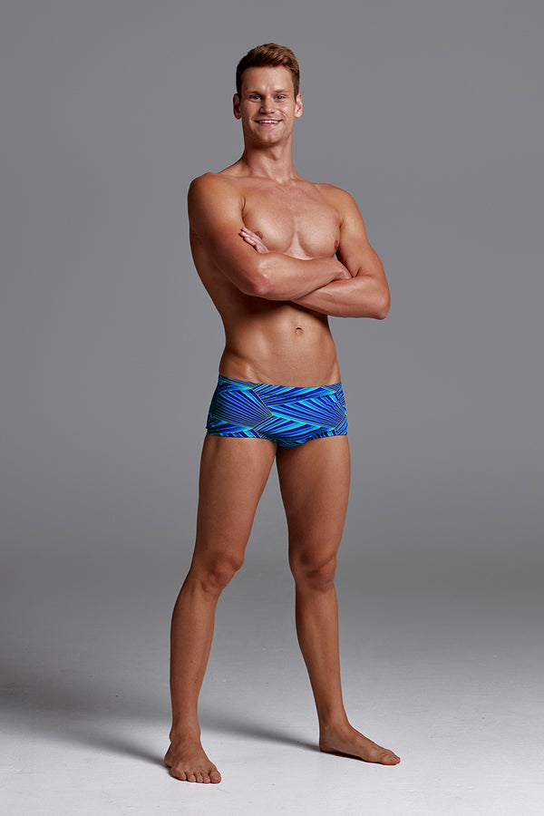 Funky Trunks - Streaker - Mens Plain Front Trunks