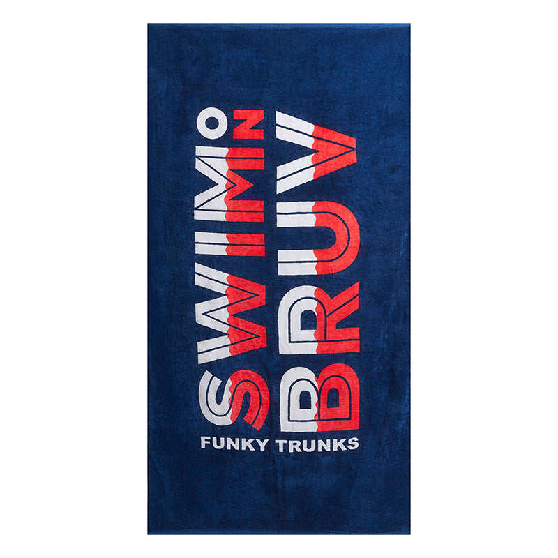 Funky Trunks - Swim on Bruv Towel