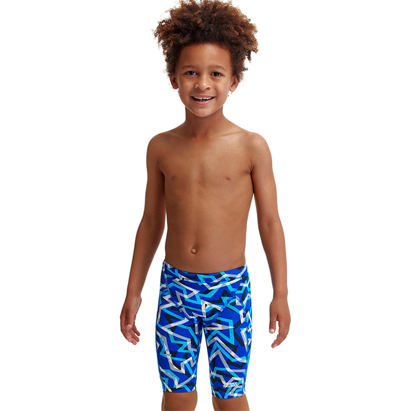 Funky Trunks - Ticker Tape - Toddler Boys Miniman Jammers