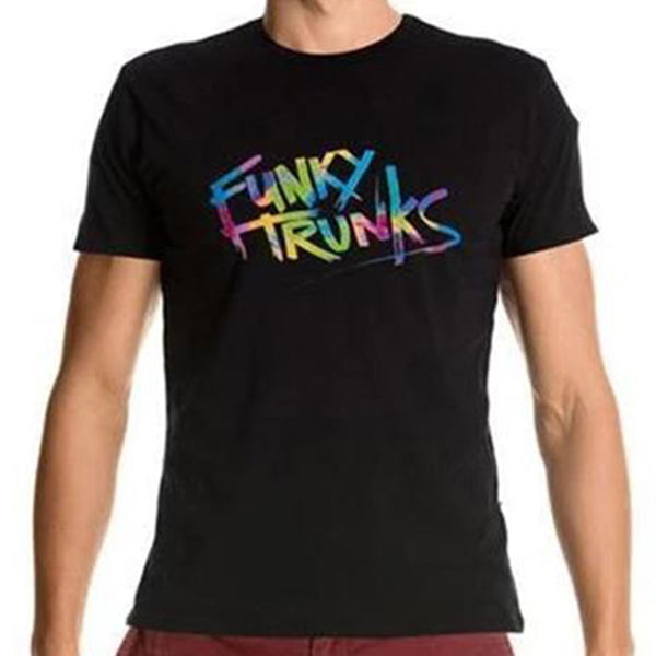 Funky Trunks - Trunk Tag Mens Crew Neck T-Shirt
