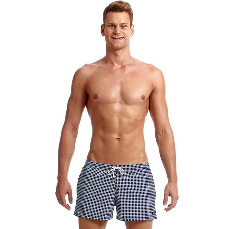 Funky Trunks - Two Face - Mens Shorty Shorts Short