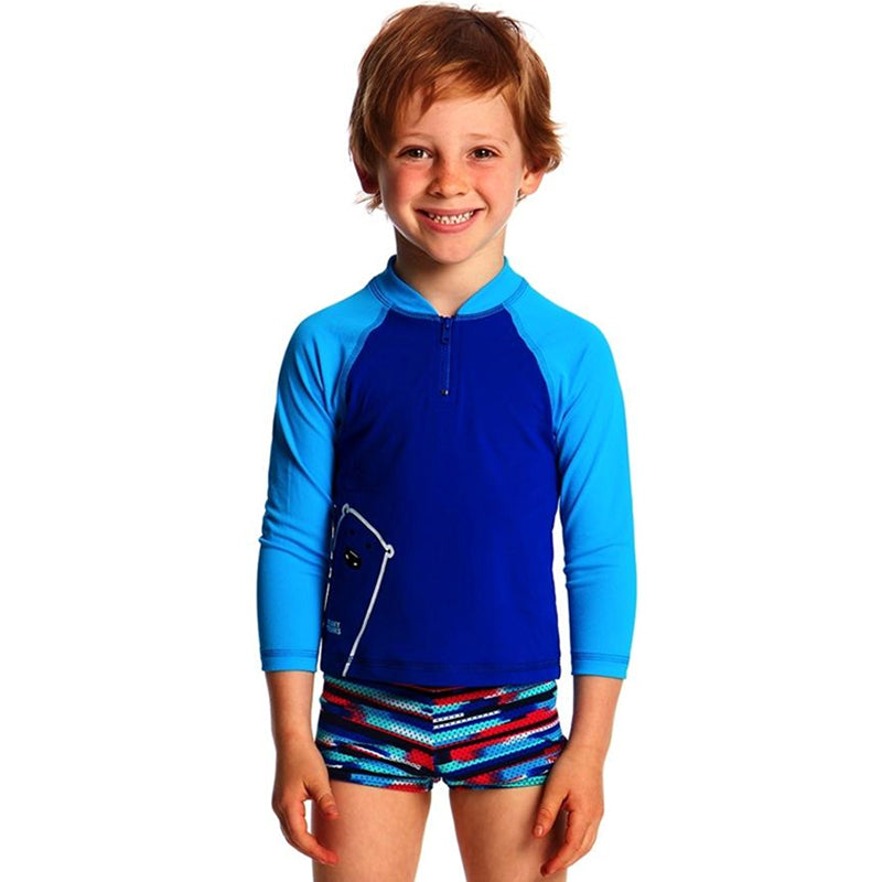 Funky Trunks - Bear Grills Toddler Boys Zippy Rash Vest
