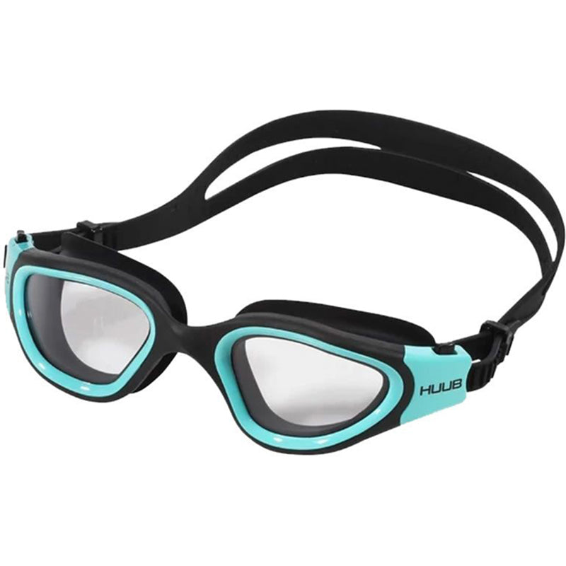 HUUB - Aphotic Photochromic Swim Goggle (Black/Aqua)