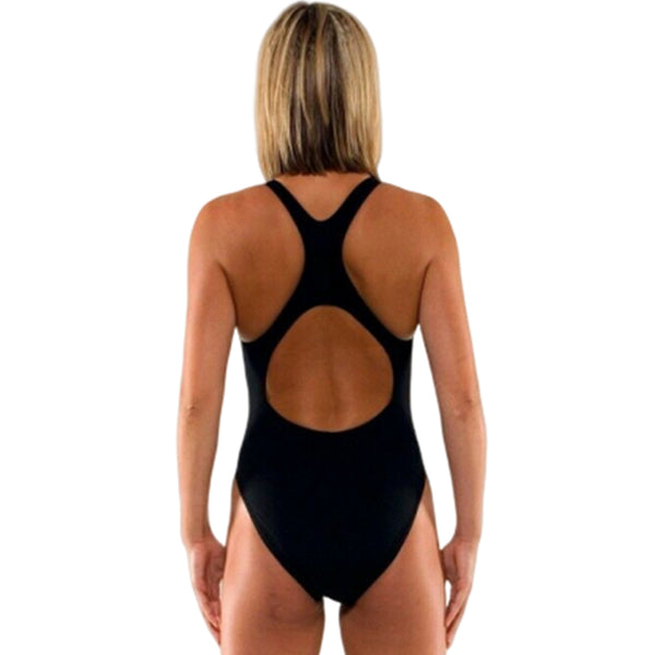 Kiefer - Team Solid Fitback Swimsuit - Black