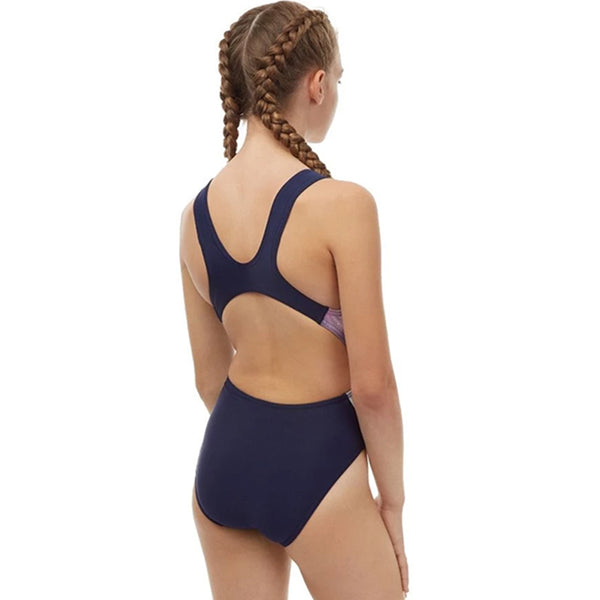 Maru - Astra Auto Back Girls Swimsuit - Multi