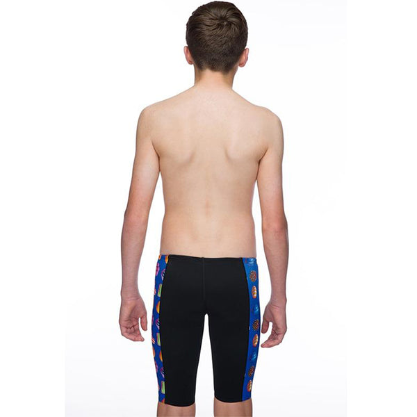 Maru - Candy Pacer Boys Jammer - Black/Blue