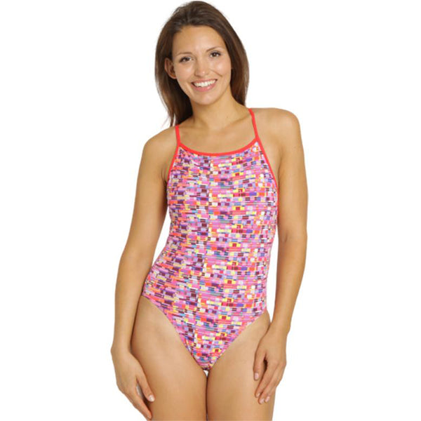 Maru - Gadget Pacer Vision Back Ladies Swimsuit - Pink