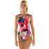 Maru - Groovy Zone Back One Piece Swimsuit - Pink