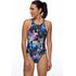 Maru - Sunglasses Zone Back Ladies Swimsuit - Black/Multi