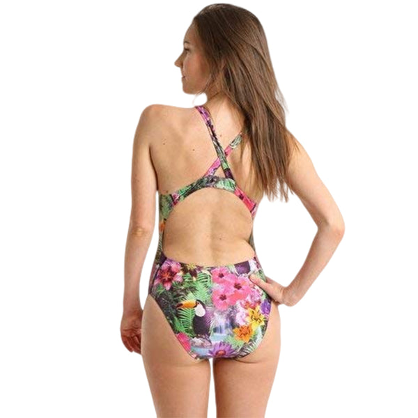 Maru Ladies Swimwear - Toucan Sparkle Tec Back One Piece