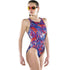Maru - Mega Pacer Vault Back Ladies Swimsuit - Blue/Red