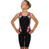 Maru Girls Swimwear - Meteor Panel One Piece Kneeskin Black/Multi
