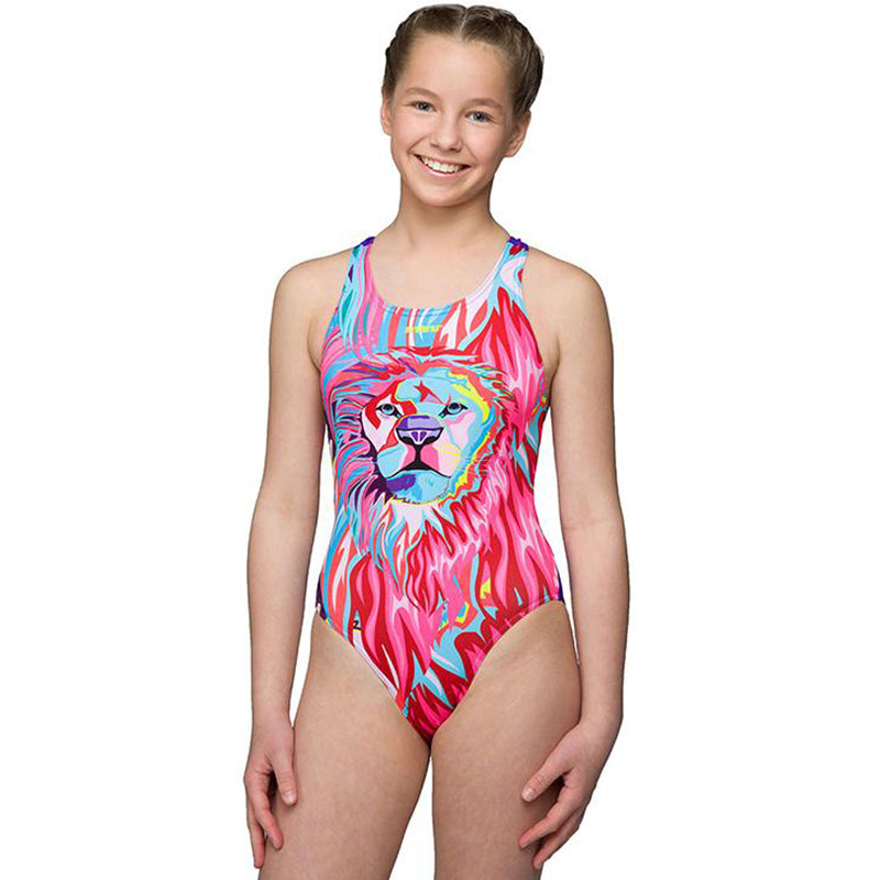 Maru - Simba Pacer Rave Back Multi - Girls One Piece Swimsuit